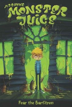 J SERIES MONSTER JUICE. After learning that the residents of the retirement home where he volunteers are secretly monsters and have stolen what appears to be his life essence, middle-schooler Chris recruits his friends to help get it back.