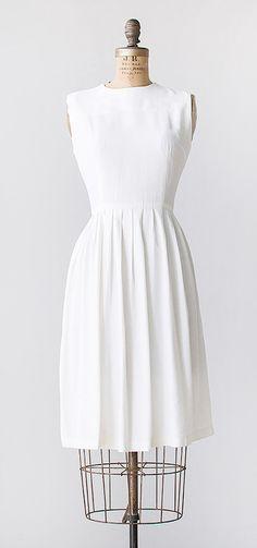 streets of lefkes dress | vintage 1960s pleat dress