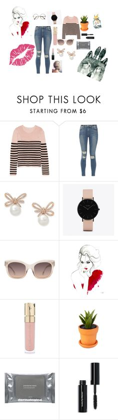 """""""Sometimes it's okay"""" by kaylee-woolsey ❤ liked on Polyvore featuring Emilio Pucci, Frame, CLUSE, Alice + Olivia, Smith & Cult, Dermalogica, Bobbi Brown Cosmetics and MAC Cosmetics"""