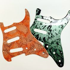 Hydro Dipped Fender Guitar Pickguards by Voyles Performance