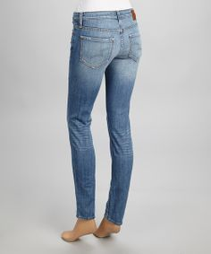 Take a look at the Big Star Light Wash Alex Skinny Jeans - Women on #zulily today!