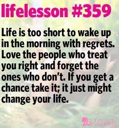 Little Life Lesson #359: Life's Too Short | GirlsGuideTo