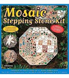 Mosaic Stepping Stone KitMosaic Stepping Stone Kit,