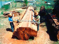 Alaskan Portable Lumber Mill - $200