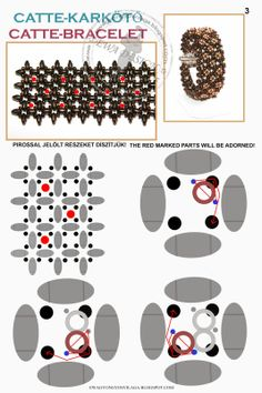 superduo and o-beads by merle Free Beading Tutorials, Beading Patterns Free, Seed Bead Patterns, Beaded Bracelet Patterns, Jewelry Making Tutorials, Jewelry Patterns, Beaded Jewelry, Beaded Earrings, Jewellery
