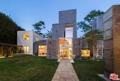 Frank Gehry's Schnabel House in Brentwood flipped to market for $15 million.
