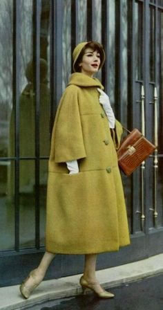 Coat by Jean Patou, 1958