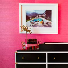 super bold + bright Pink Love, Hot Pink, Pink Punch, Color Pop, Colour, Pink Walls, Room Accessories, My Room, Beautiful World