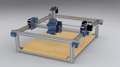cnc router | This CNC router is one of many proposed designs using Makerslide ...