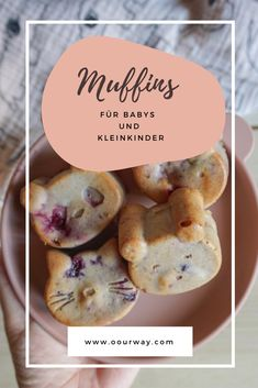 Fingerfood Baby, Baby Muffins, Baby Snacks, Baby Led Weaning, Baby Food Recipes, Finger Foods, Babys, Breakfast, Kids