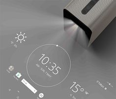 Watch, Play -- Sony's Xperia Touch is an interactive home projector that adapts to any flat surface. On tables, walls or floors, you can watch videos, play games, read, draw pictures, or use it to leave messages & reminders. It has 32GB of onboard storage as well as wi-fi, bluetooth, & NFC capabilities.