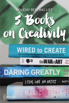 Holiday Reading List: 5 Books on Creativity | Duende by Madam ZoZo #vacation #holiday #books #creativity