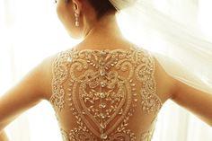 Breathtaking!  Beautiful Lace Back Wedding Dresses