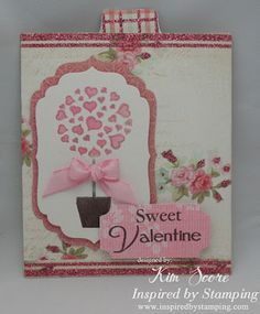 double slider card designed by Kim Score featuring Inspired by Stamping stamps