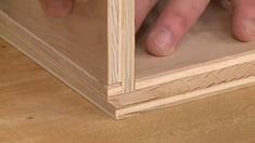Quick & Easy Plywood Cases | Woodsmith Tips