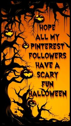 Hope you have a scary fun Halloween ♥ Tam ♥ #AllInOneGroupBoard(NoLimit)