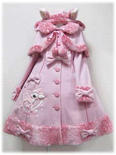Angelic Pretty / Outerwear / Milky-chan of the Fawn Coat (Plain and Polkadot)