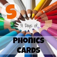 A silly little phonics card for the letter S