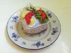 virka liten kaka: Smörgåstårtbit - hos Citron och vanilj!