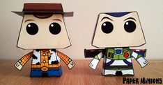 Blog_Paper_Toy_papertoys_Paper_Minions_Woody_Buzz