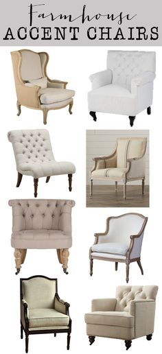 The Best Tufted Neutral Chairs | Living rooms, Room and House