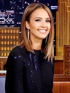 What It's Like To Get Your Hair Cut By Kim Kardashian's Hairstylist - the inspiration image: Jessica Alba's hairstyle