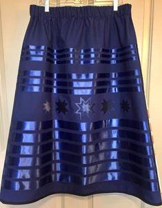 Native American Wedding, Native American Clothing, Native American Fashion, Ribbon In The Sky, Long Plaid Skirt, Native Fashion, Jingle Dress, Ribbon Skirts, Beadwork Designs