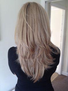 Ash blonde highlights