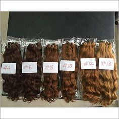 Brown Color Hair Extensions by HRITIK EXIM, a leading Manufacturer, Supplier, Exporter of Best Quality Brown Color Hair Extensions based in Hyderabad, India. Brown Hair Colors, Styling Tools, Hair Extensions, Curly, Place Card Holders, Spring Summer, Beautiful, Easy, Design