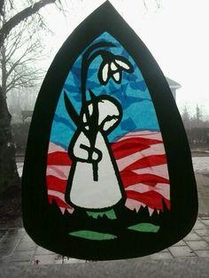 Sneeuwklokje Lululemon Logo, Logos, Creative, Christmas, Teacher, Painting, Winter, Silhouettes, Xmas