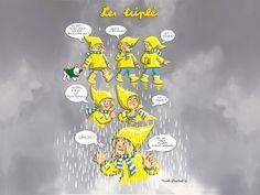 """Les Triples, Nicole Lambert """"c'est le printemps"""" les-triples.com - for more inspiration visit http://pinterest.com/franpestel/boards/"""