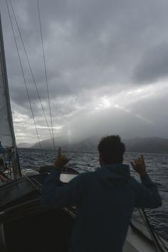 Making landfall on Isla De Cedros, a remote island 70, miles off the coast of Baja.