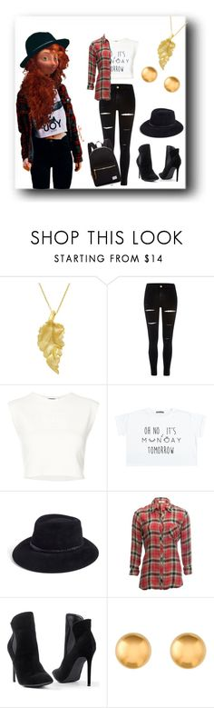 """Modern Merida Outfit"" by yao-fashion ❤ liked on Polyvore featuring London Road, River Island, Puma, Disney, Eric Javits, Dylan, Venus, Herschel Supply Co. and modern"