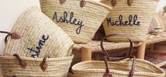 Wedding favor totes from Etsy Free Wedding, Perfect Wedding, Wedding Day, Wedding Party Favors, Wedding Events, Ashley Michelle, Cake Trends, Ceremony Decorations, Wedding Details