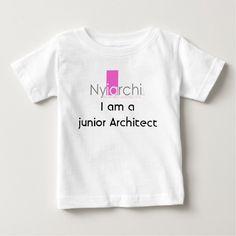 I am a junior Architect Infant Tee T Shirt, Hoodie Sweatshirt