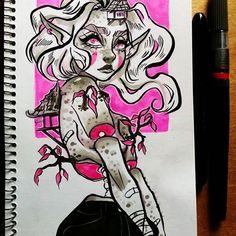Mmm... #drawing #sketchbook #doodle #marker #sketch #copic #promarker