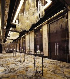 The Ritz-Carlton, Hong Kong - The Diamond Ballroom foyer
