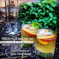 #LaborDayWeekend is just about here! Get a head start on this beautiful #ThirstyThursday by having a #DÉCADA #PeachyPlayDate. So good, you'll need two. #DÉCADA #Tequila #DrinkPorn #LDW #TranformYourTaste #BeSmooth #NoMoreBurn