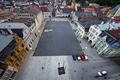 Reconstruction of the Square in Frydlant / Balda Janďourek architects