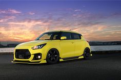 Suzuki Swift Sport gets a bit aggro with new JDM body kit New Suzuki Swift, Suzuki Swift Sport, Suzuki Swift Tuning, Car Parts And Accessories, Hummer H2, Mustang Fastback, Bugatti Chiron, Sport Body, Toyota Prius