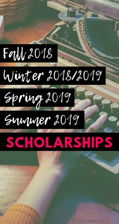 Seasons of Scholarships: Fall 2018 – Summer 2019 Scholarships Here are some fun & easy scholarships for Fall 2018 all the way through Summer Apply away! – College Scholarships Tips Scholarship Search Engine, School Scholarship, Financial Aid For College, Education College, College Planning, College Club, College Life, College Hacks, Spanish Lessons