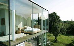 Một số mẫu thiết kế nhà kính với người thích sự tinh tế và đơn giản ~ New Life Blog
