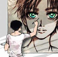 Wouldn't it be cute if this was him reincarnated but Levi remembers his face but doesn't remember Eren until he sees him? My weird mind♡