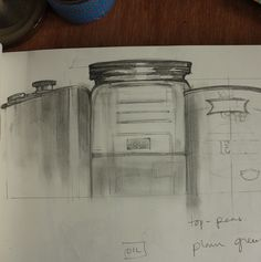 MAKING THE MARROW - Drawings - Artist's Response to Punchdrunk's The Drowned Man   #pencil #sketch