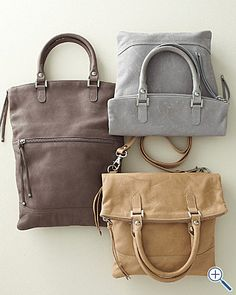 I have a dark gray purse like this, and I love ti!!!!!  Garnet Hill