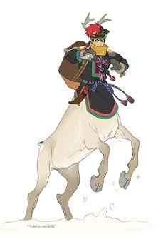 Eternal Bond Picture 2d Fantasy Centaur Warrior