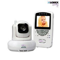 Lorex Sweet Peep Baby Video Monitor with Pan Tilt Zoom & Temperature Alerts