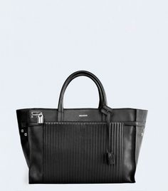 Zadig & Voltaire Small Candide Bag in Black // Small handbag with a padlock