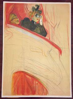 1930s-1960s Lautrec Poster The Opera Box Edition Stedelijk Museum Luii & Co. #Impressionism