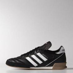 nice retro daps! adidas Men's Kaiser 5 Goal Shoes 7 Black / Ftwr White #shoes #adidas #men #covetme